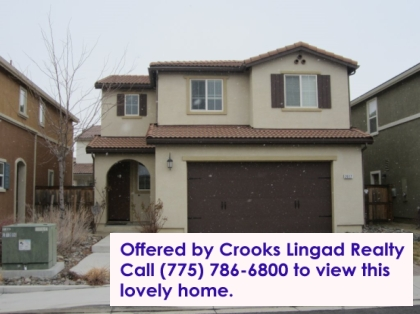 Crooks Lingad Realty sold this Reno home.